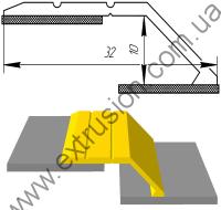 алюминиевый профиль порог